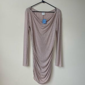 Free People Tops - Free People Intimately Sheer Striped Tunic Dress L
